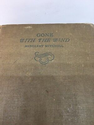 Margaret Mitchell GONE WITH THE WIND 1936 early Aug (1st year ED)