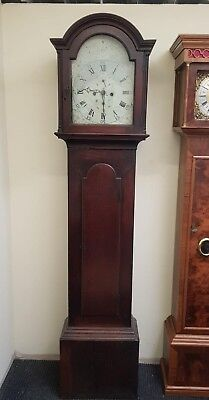 Antique Longcase Grandfather Clock For spares or repairs