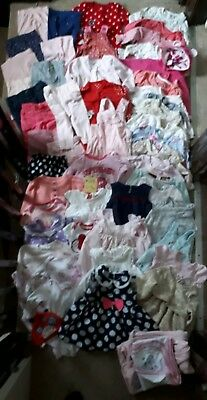 Massive Bundle Of Baby Girl Clothes 6-9months #219 e.g. NEXT TED BAKER GEORGE