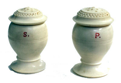 VINTAGE PAIR OF SALT AND PEPPER SHAKERS. No reserve! REDUCED PRICE