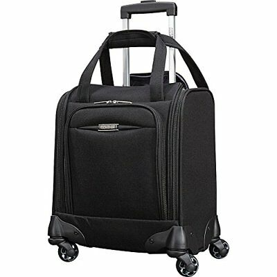"""American Tourister Meridian NXT 16"""" Carry-On Spinner Underseater Black"""