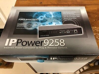 Internet Power Controller 9258, 4 Port Web AC Power Network Switch Controller