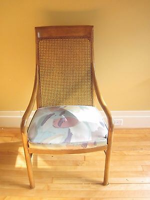 Set of 8 Drexel Heritage Mid Century Bentwood Dining Chairs