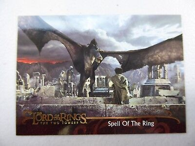 TOPPS Lord of the Rings: The Two Towers - Card #150 SPELL OF THE RING