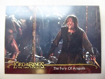 TOPPS Lord of the Rings: The Two Towers - Card #68 THE FURY OF ARAGORN