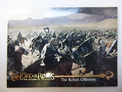 TOPPS Card : LOTR The Return Of The King  #56 THE ROHAN OFFENSIVE
