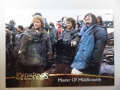 TOPPS Card : LOTR The Return Of The King  #88 MASTER OF MIDDLE EARTH