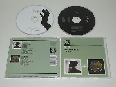 Feist / The REMINDER + Let It Die (Polydor 600753358108) 2XCD Album