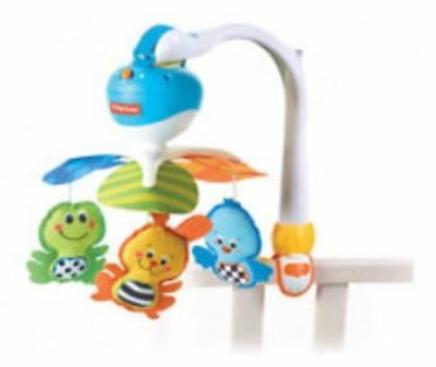 Tiny Love Take-Along Baby Mobile with Music For Infant Carrier, Stroller, Crib