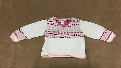 Pumpkin patch baby girl cardigan size 00 (2 of 2)