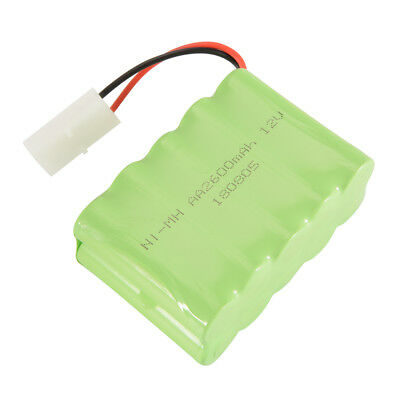 AA NI-MH 12V 2600mAh Rechargeable Battery Spare Pack KET-2P Plug for Toys BC762