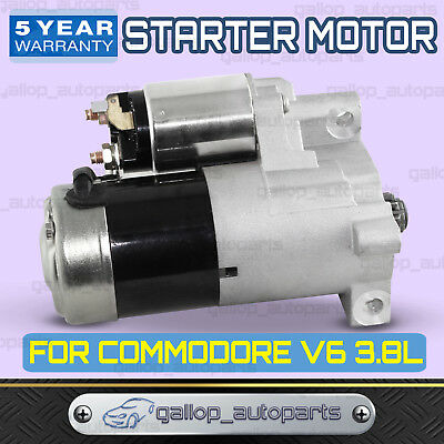 New Starter Motor for Holden Calais V6 VS VT VX VY VN VP VR Manual Transmission