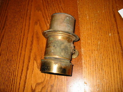 Antique Darlot Paris Brass Lens ship Co mark camera military army navy airforce