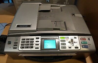 Brother MFC-845CW Printer, Fax, Copier, Scanner, Cordless with Integrated Phone