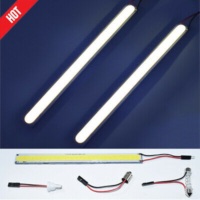 "1x 6.7"" T10 Super White HID Waterproof Strip Car Trunk Cargo Area LED Light Lamp"