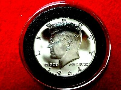 1964  Kennedy *proof* 90% Silver Half Dollar    Item #34