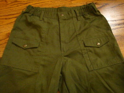 boy scout pants uniform PANTS 28 waist used LOOK nice condition BOYS size 16