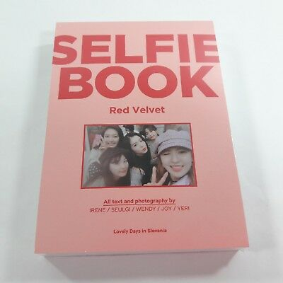 Red Velvet Selfie Book Lovely Days in Slovenia Official Original goods K-POP New