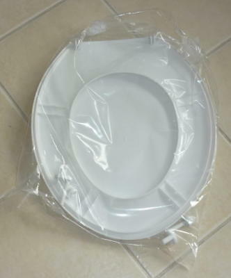 Toilet seat and lid, BRAND NEW & UNUSED. White