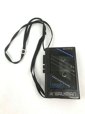 Vintage Sony Walkman WM-11D Cassette Player - For Parts, Not Working