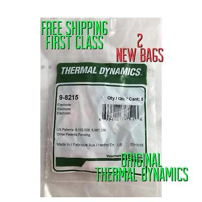 """Thermal Dynamics #9-8215 electrodes — 2 Bags = 10 Electrodes—-""""""""""""USA Supplier"""""""""""""""
