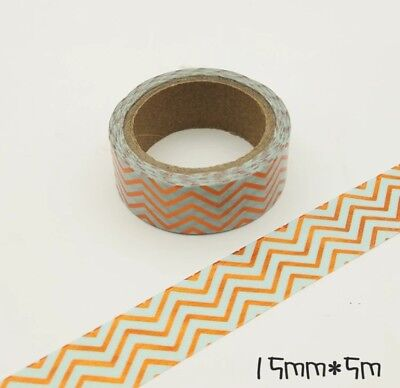 Japan Washi tape Decor Shapes and Geography 15mm x7m MT081
