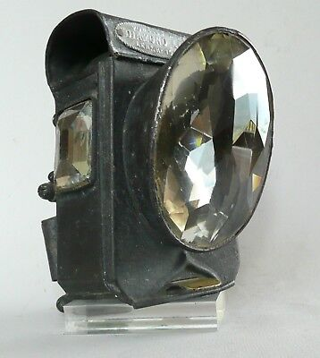 Ancienne lampe de vélo, Diamond Light, Old bicycle lamp, candle, no carbide
