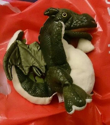 BABY Dragon HAND PUPPET Folkmanis SOFT Plush TOY Collectable folkmans