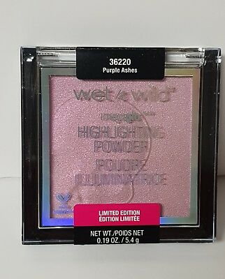 Wet N Wild Goth O Graphic Spring 2018 , PURPLE ASHES SHIMMER HIGHLIGHTER