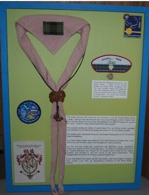 Scouting history - A piece of Gilwell Park - collected 03Sep2007