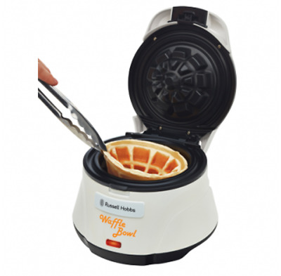Russell Hobbs Bowl Waffle Maker - White. ***Clearance.** last one.