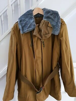 RUSSIAN WINTER MILITARY JACKET Mens size medium/short (40/42 inch chest)