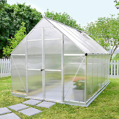 Palram Essence 8 Ft. W x 12 Ft. D Greenhouse