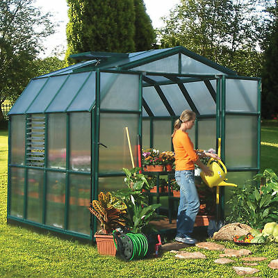 Rion Greenhouses Prestige 2 Twin Wall 8 Ft. W x 8 Ft. D Greenhouse