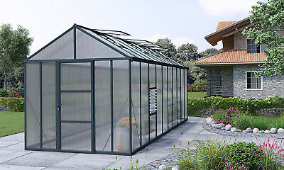 Palram Glory 8 Ft. W x 20 Ft. D Greenhouse