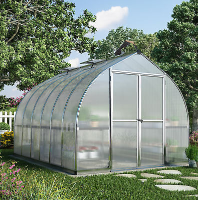 Palram Bella 8 Ft. W x 12 Ft. D Greenhouse