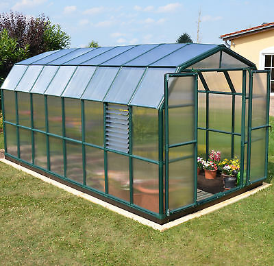 Rion Greenhouses Prestige 2 Twin Wall 8 Ft. W x 20 Ft. D Greenhouse