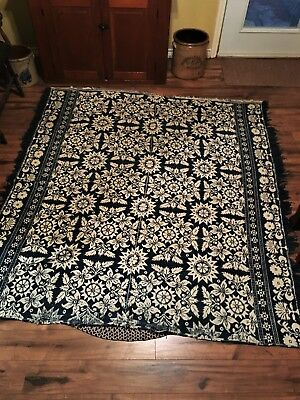 Coverlet Early 19th Century American  Maryland