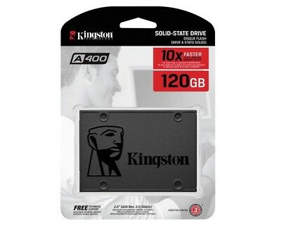 120GB SSD Kingston A400 SA400S37/120G 7mm slim Version