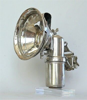 Ancienne lampe lanterne de vélo FAVORIT carbure Carbide lantern for bicycle lamp