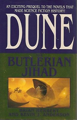 The Butlerian Jihad by Brian Herbert and Kevin J. Anderson (2002, HardcoverDJ)
