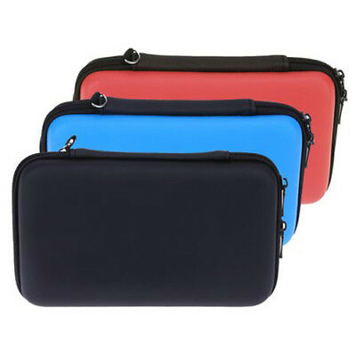 New Nintendo 3DS XL EVA Hard Protective Case Zip Cover Carry Bag Pouch
