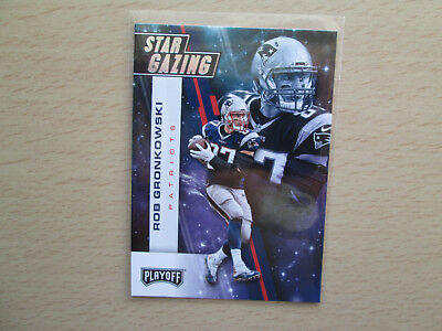 Panini Playoff NFL 2017 - Star Gazing - # 16 Rob Gronkowski