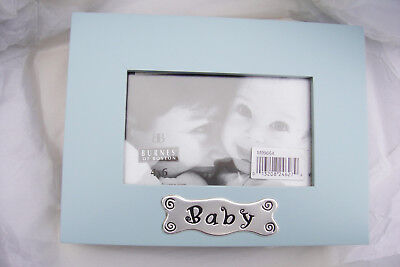 New Burnes Of Boston Early Years Photo Album Baby Blue Holds 4x6