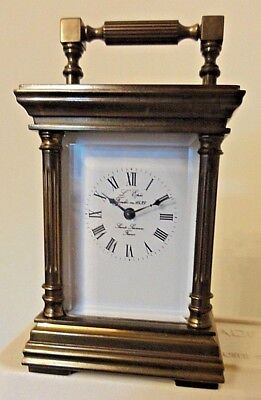 L,epee Miniature  Carriage Clock with Original Key