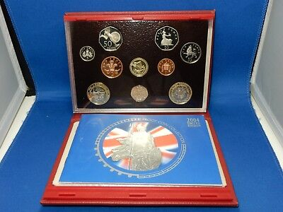 2004 United Kingdom 10-Coin Proof Set