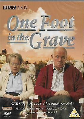 One Foot In The Grave Series 3 DVD NEW and SEALED Richard Wilson Annette Crosbie