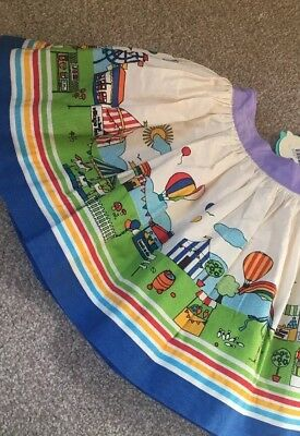 Little Bird By Jools Oliver Fete Print Skirt Rainbow 18-24 Months Retro