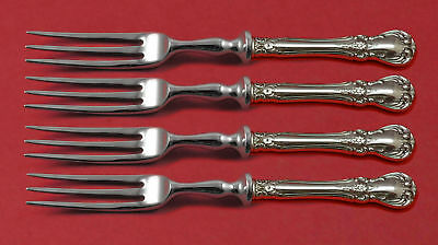 Old Master by Towle Sterling Silver Fruit Fork Set 4-piece HH WS Custom Made 6""
