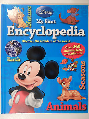 Disney My First Encyclopedia with over 240 Amazing Facts with Pictures